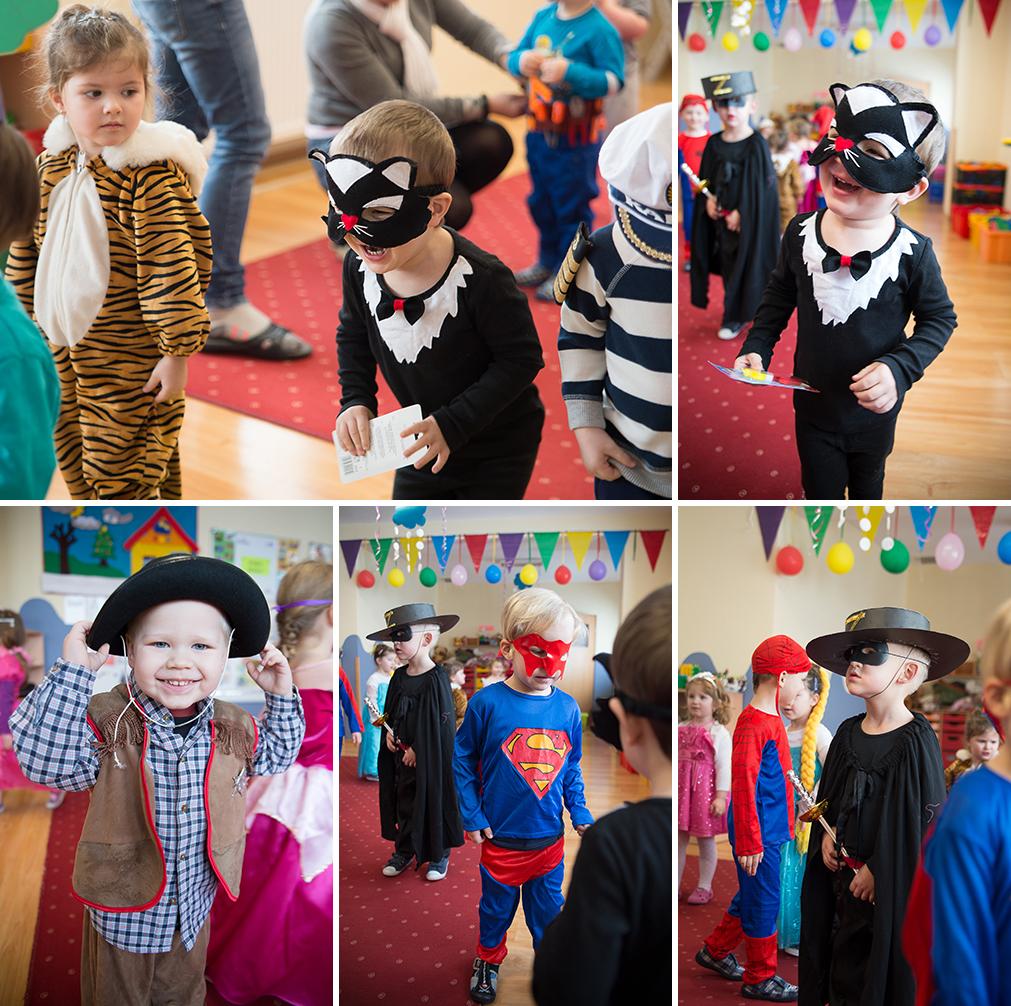 Bal karnawałowy, strój karnawałowy, dzieci w przedszkolu (1)