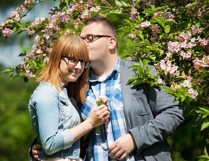 Sesja narzeczeńska - Ewelina i Daniel