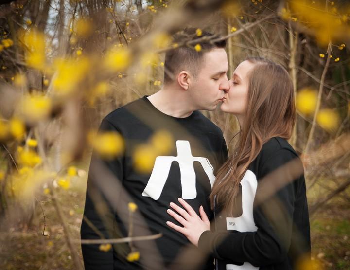 Sesja narzeczeńska - Patrycja & Tomek