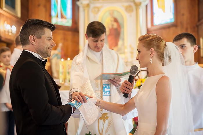 Ceremonia ślubna - Marta i Bartosz