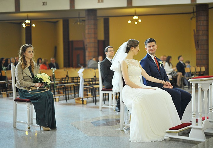 Ceremonia ślubna - Olga & Czarek