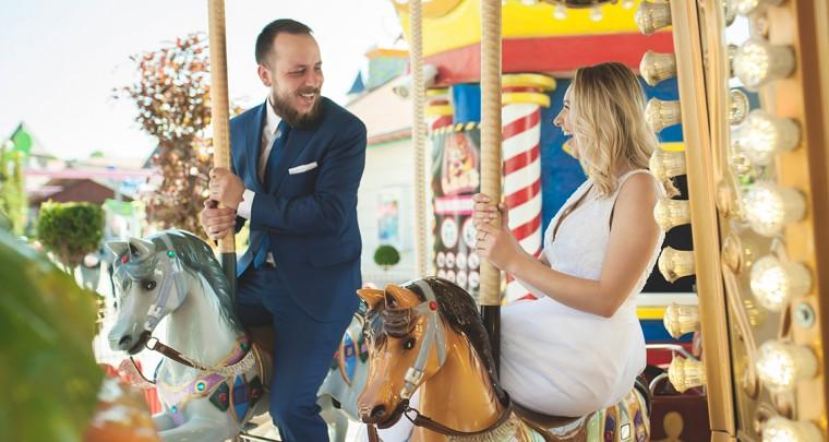 Plener ślubny w Energylandii - Ewelina & Michał